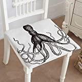 Best Home Comforts Dictionaries - Mikihome Premium Chair Cushion Octopus Vintage Engraved Dictionary Review