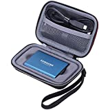 XANAD Case for Samsung T3 T5 Portable 250GB 500GB 1TB 2TB SSD USB 3.1 External Solid State Drives Storage Travel Carrying Bag