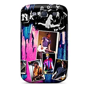 High Quality Hard Phone Covers For Samsung Galaxy S3 (TuY19360KXoi) Custom HD Blink 182 Band Image
