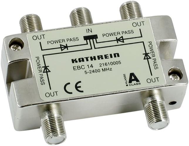 Kathrein Ebc 14 4 Fach Verteiler Elektronik