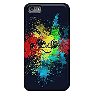 Hot Style cell phone carrying covers High Grade Cases Shock Absorbing iphone 6 4.7 case 6p - dead mau5 color