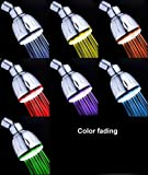 MagicShowerhead SH1026 7 LED Colors Fading Shower Head Picture