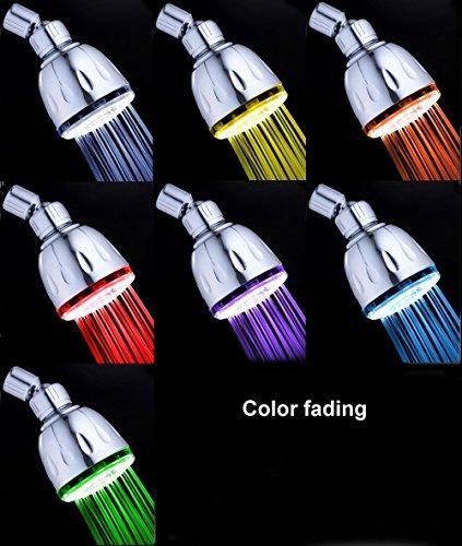 7 color led shower head - 6