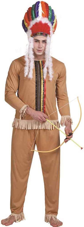 Disfraz de Indio Nativo para Hombre de Tribu primitivo para ...