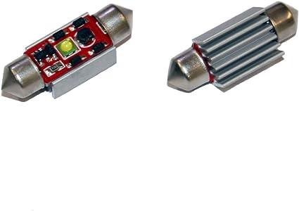 Ford – Correa de distribución para Ford Focus MK1 Canbus CREE LED matrícula bombillas Festoons – Bombillas C5 W 36 mm: Amazon.es: Coche y moto