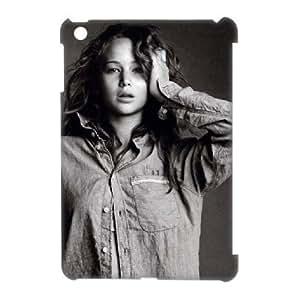 3D Bloomingbluerose Jennifer Lawrence IPad Mini Cases Jennifer Lawrence., Cute Protective Jennifer Lawrence, {White}