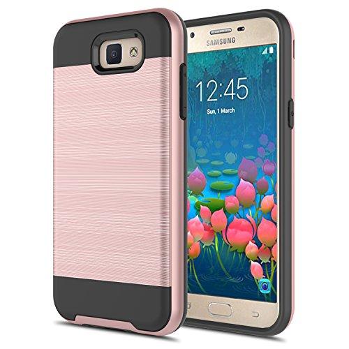 Slim Armor TPU Case for Samsung Galaxy J5 (Gold) - 7