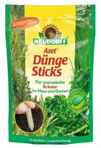 Neudorff 00569 Azet Dünge Sticks für Kräuter, 40 Stück