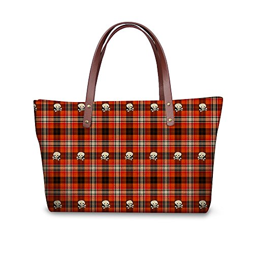 Large Top Handle FancyPrint Satchel Handbags Bags Dfgcc1736al Women Shoulder vUqadF