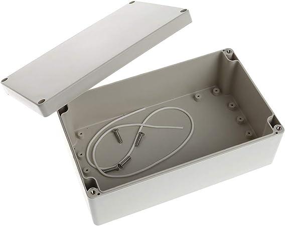 1 caja de plástico impermeable para proyectos de 7,87 pulgadas x 4 ...
