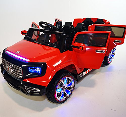 Stunning 2 Seater Big Ride On Suv Style 12v Battery