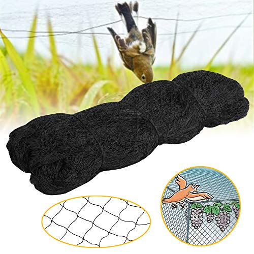 Yaheetech 50' X 50' Net Netting for Bird Poultry Aviary Game Pens Black 2.4