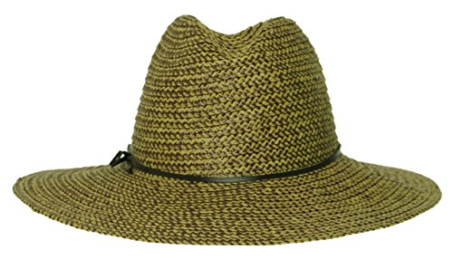 Nine West Packable Straw Sun Hat Brown One Size