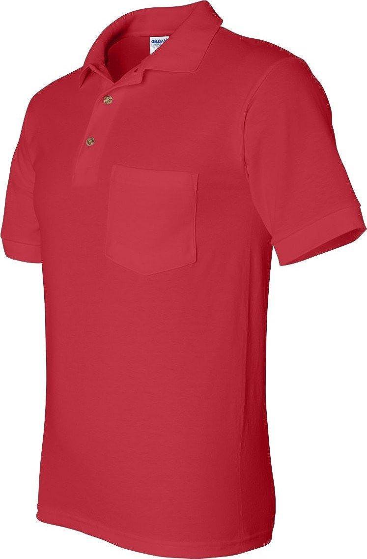 Gildan 5.6 oz. Ultra Blend 50/50 Jersey Polo with Pocket 8900