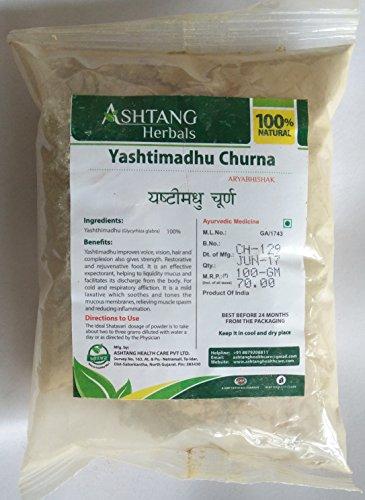 Ashtang Herbal, Yashtimadhu Churna,100g, Glycyrhiza Glabra, 100% Natural Herbal Powder