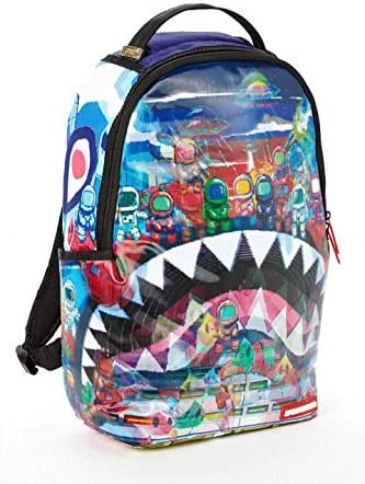 SPRAYGROUND BACKPACK LENTICULAR LAND OF ASTRO SHARKS