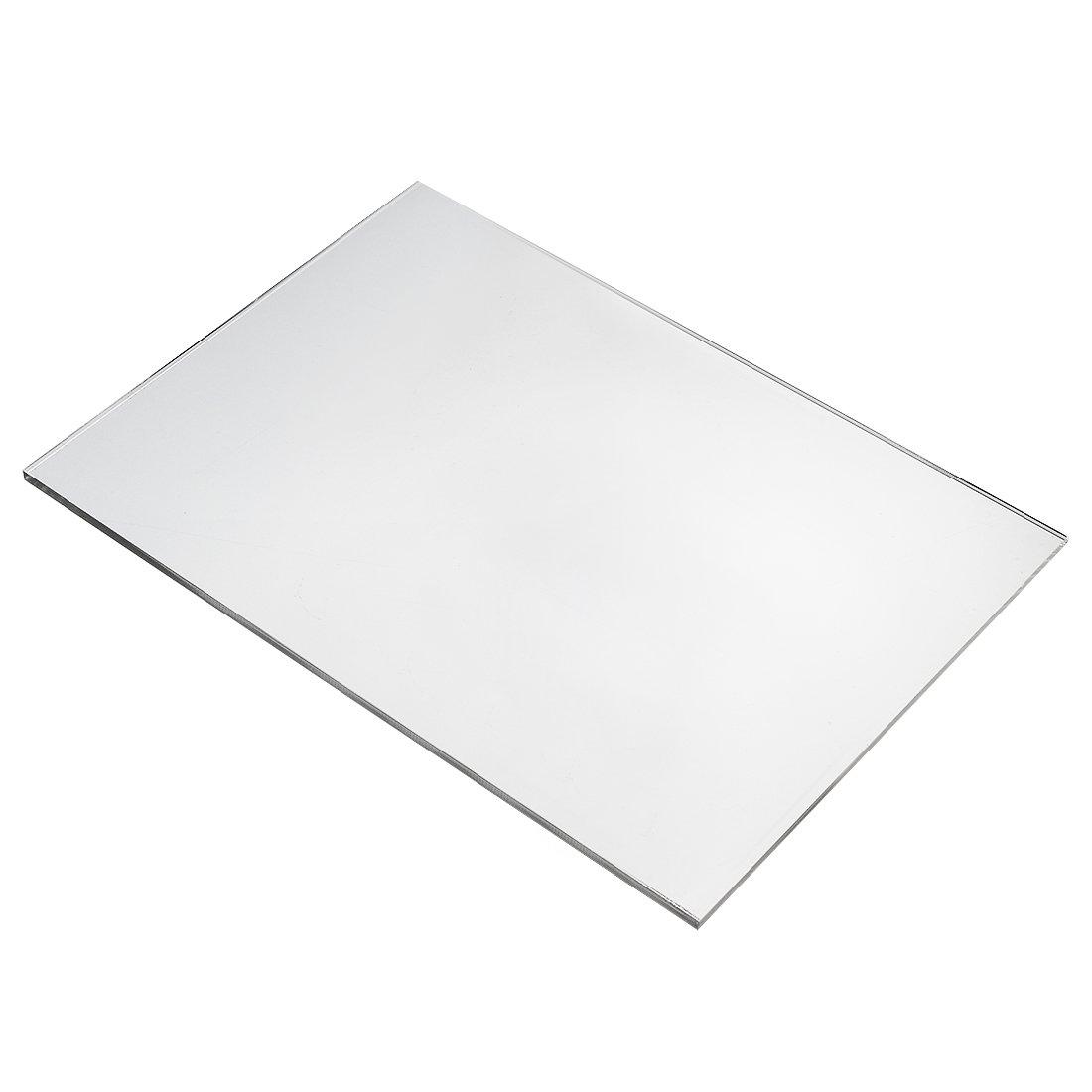 5mm Clear Perspex Acrylic Plexi Plastic sheet panel material A4 210mm x 297mm