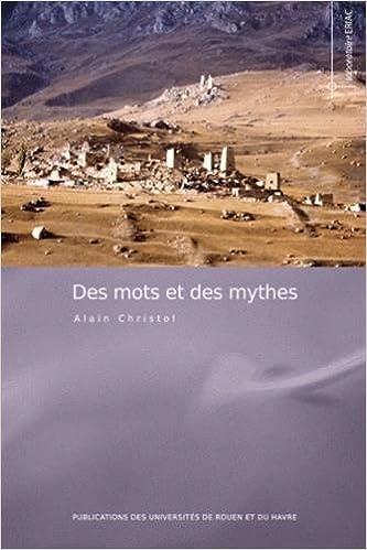 Livres Des mots et des mythes : (Etudes linguistiques) pdf epub