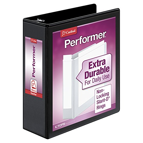 Cardinal Performer 3-Ring Binder, 3