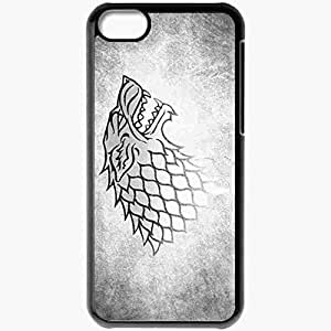 diy phone casePersonalized ipod touch 5 Cell phone Case/Cover Skin Wolf The Game Of Thrones Blackdiy phone case