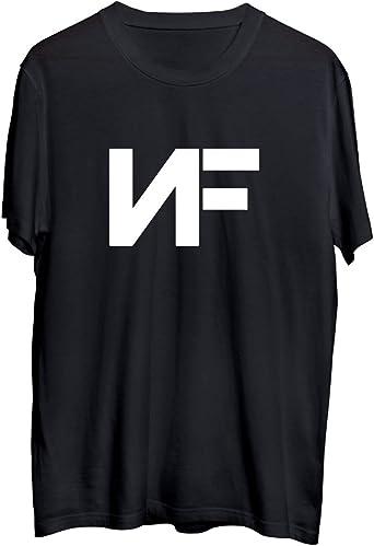 MTNACLOTHING NF Rap Music Legend Initials_MA0410 T-Shirt Shirt For Men Man Tshirt T Shirt Camiseta Men para Hombres Hombre Cute Funny: Amazon.es: Ropa y accesorios