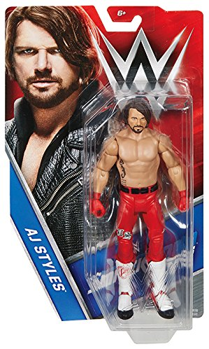 WWE Superstars AJ Styles Action Figure, 6""