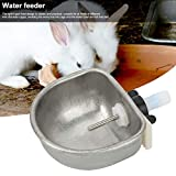 Hffheer 10PCS Rabbit Water Feeder Cage Stainless