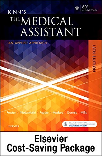 Kinn's The Medical Assistant - Text, Study Guide and Procedure Checklist Manual Package, 13e