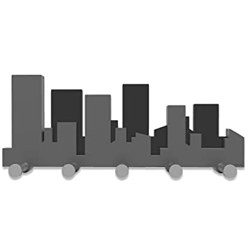 calleade Sign Skyline - Perchero para la Pared: Amazon.es: Hogar