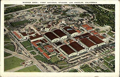 First National Studios - Warner Bros. First National Studios Los Angeles, California Original Vintage Postcard