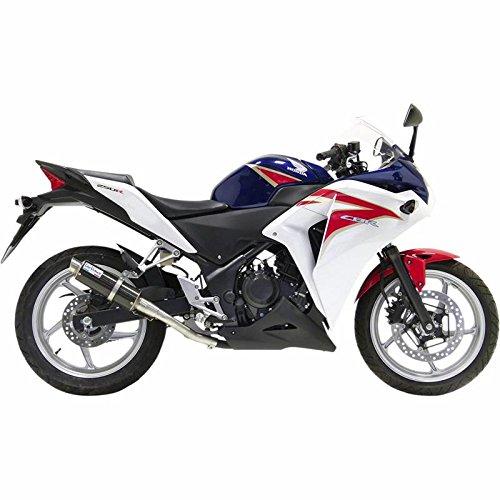 (11-13 Honda CBR250R: Leo Vince SBK GP Corsa Slip-On Exhaust (Carbon)