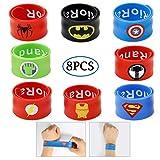 Best Bracelets  Boys - Slap Bracelets Kid's Party Supplies Favors Boy's Wristb Review