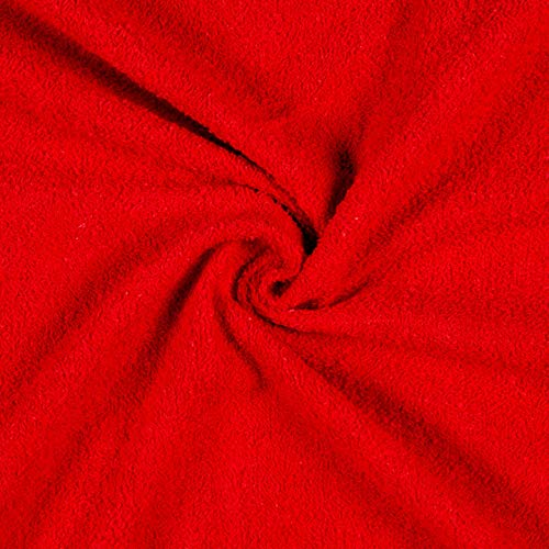 (Newcastle Fabrics Terry Cloth Red Fabric Fabric by the Yard)