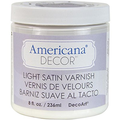Deco Varnish 8 ounce Light Satin product image