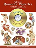 Full-Color Romantic Vignettes, Dover Publications Inc. Staff, 0486995410