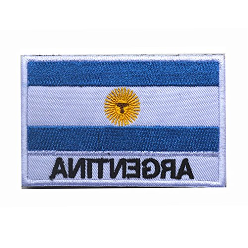 Argentina Flag Patch Embroidered Military Tactical Flag ()