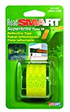Life Safe: Road Smart Super Brite Fluorescent Reflective Tape, 1'' x 24'', Lime