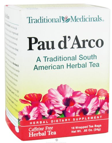 Traditional Medicinals Herb Tea Pau D'Arco 16 Bag by Traditional Medicinals (Image #1)
