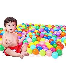 100Pcs Multicolor Baby Kid Child Swim Pit Toy Round Soft Plastic Ocean Ball Random Color