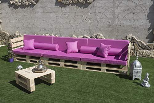 Sofa PALETS Europeo 2,4m Nuevo A ESTRENAR Interior/Exterior AL ...