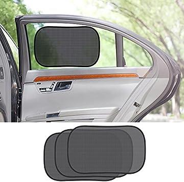 MATCC Car Sun Shade Premium Baby Car Window Shades Blocking Harmful UV Sun Rays Universal Size for All Cars 4 Pack