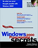 Windows 2000 Programming Secrets, Clayton Walnum, 0764546635