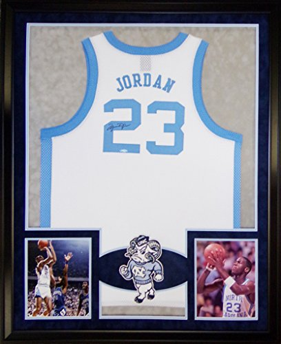 michael-jordan-framed-jersey-signed-uda-coa-upper-deck-unc-north-carolina-upperdeck