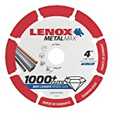 Lenox Tools 1972920 METALMAX Diamond Edge Cutoff Wheel, 4