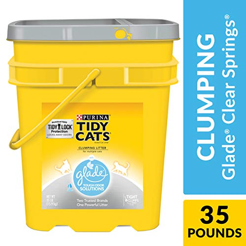 Purina Tidy Cats with Glade Tough Odor Solutions Clear Springs Clumping Cat Litter