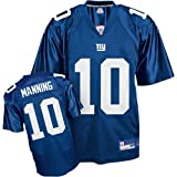 Reebok New York Giants Eli Manning Youth Replica Team Color Jersey Size: Youth Large