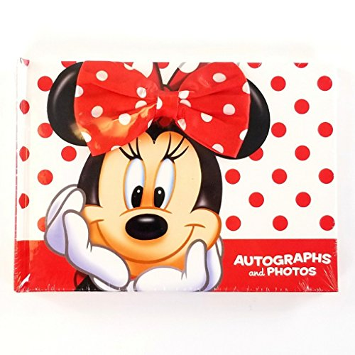 Disney Parks Minnie Mouse Autograph and Photo Book (Perfect Autograph)