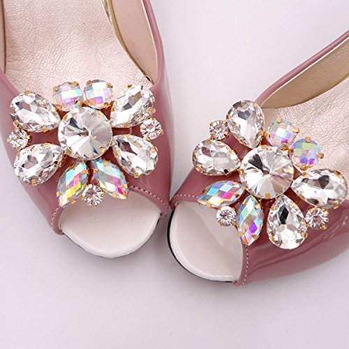 De Clips 1 Prendedores Par Zapatos Para Adornos Oulii Mujer Decoraciones kP0wO8n