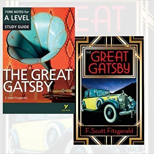 Book The Great Gatsby 2 Books Bundle Collection (The Great Gatsby, The Great Gatsby: York Notes for A-Level 2015 (York Notes Advanced))