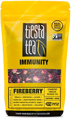 Cranberry Hibiscus Tea FIREBERRY Caffeine product image